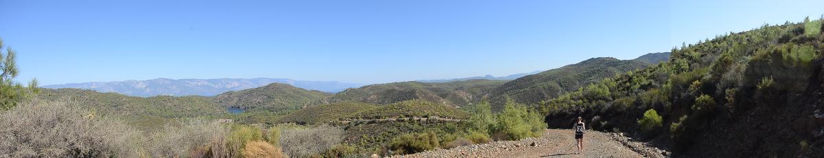 Vue panoramique des montagnes