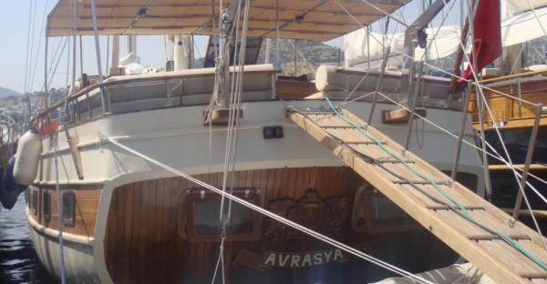Arrière du bateau