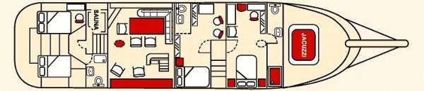 Plan du bateau